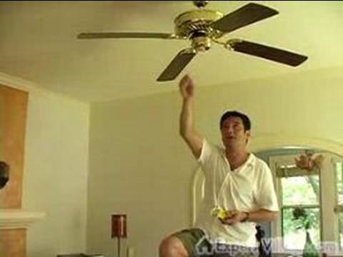 Easy DIY Home Projects : How to Repair a Ceiling Fan 3