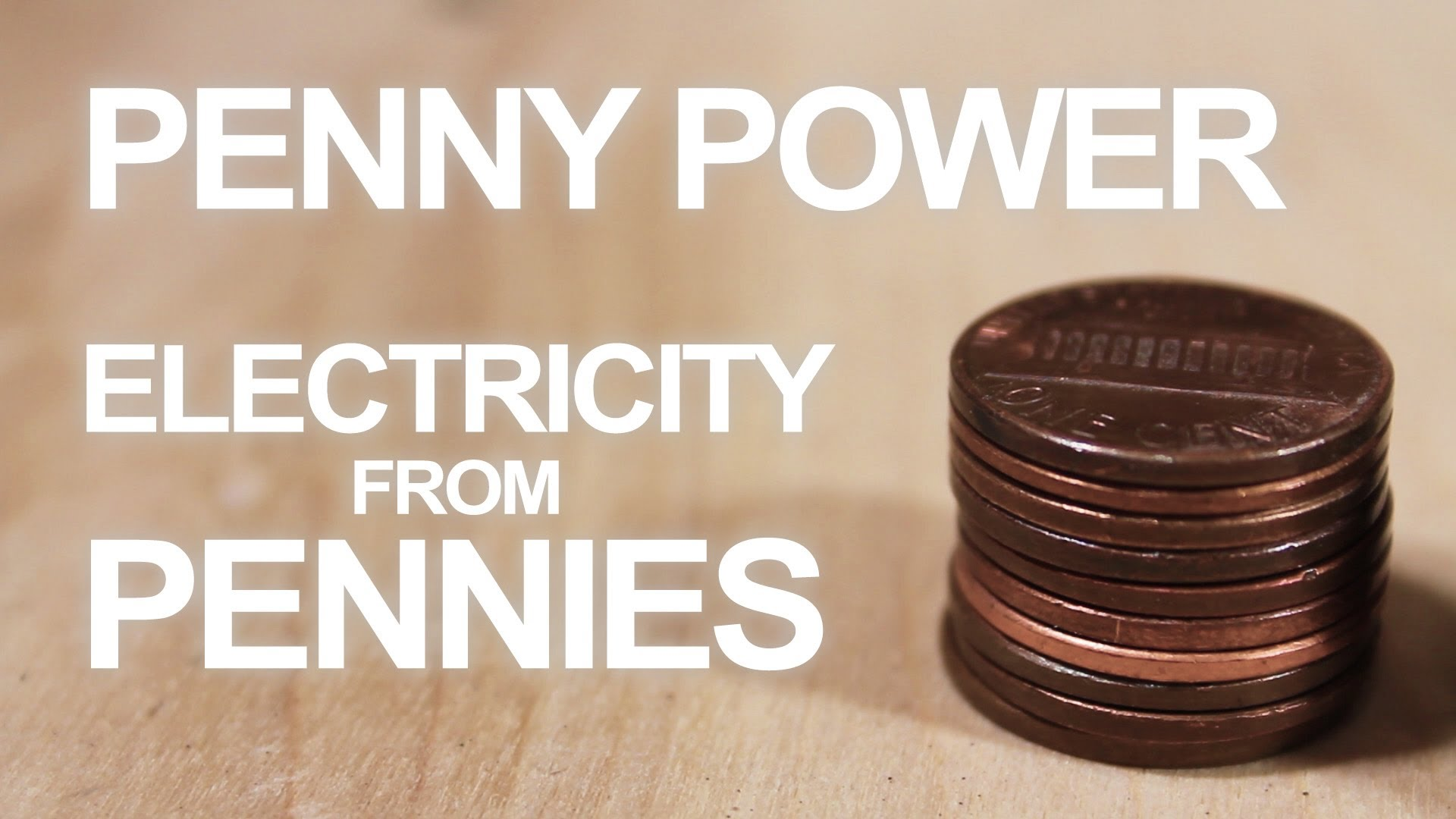 How To Make a 3 Penny Battery 3