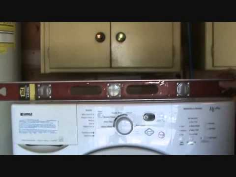 How to repair a vibrating washing machine...Part 2 5