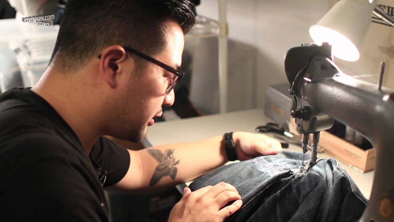 How to repair your jeans with Self Edge NYC 5