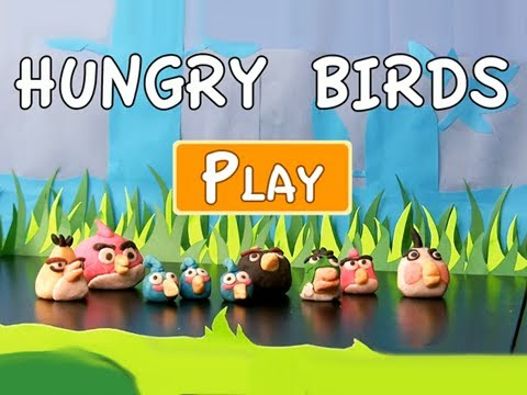 Real Life Angry Birds! With Almond Paste! 6