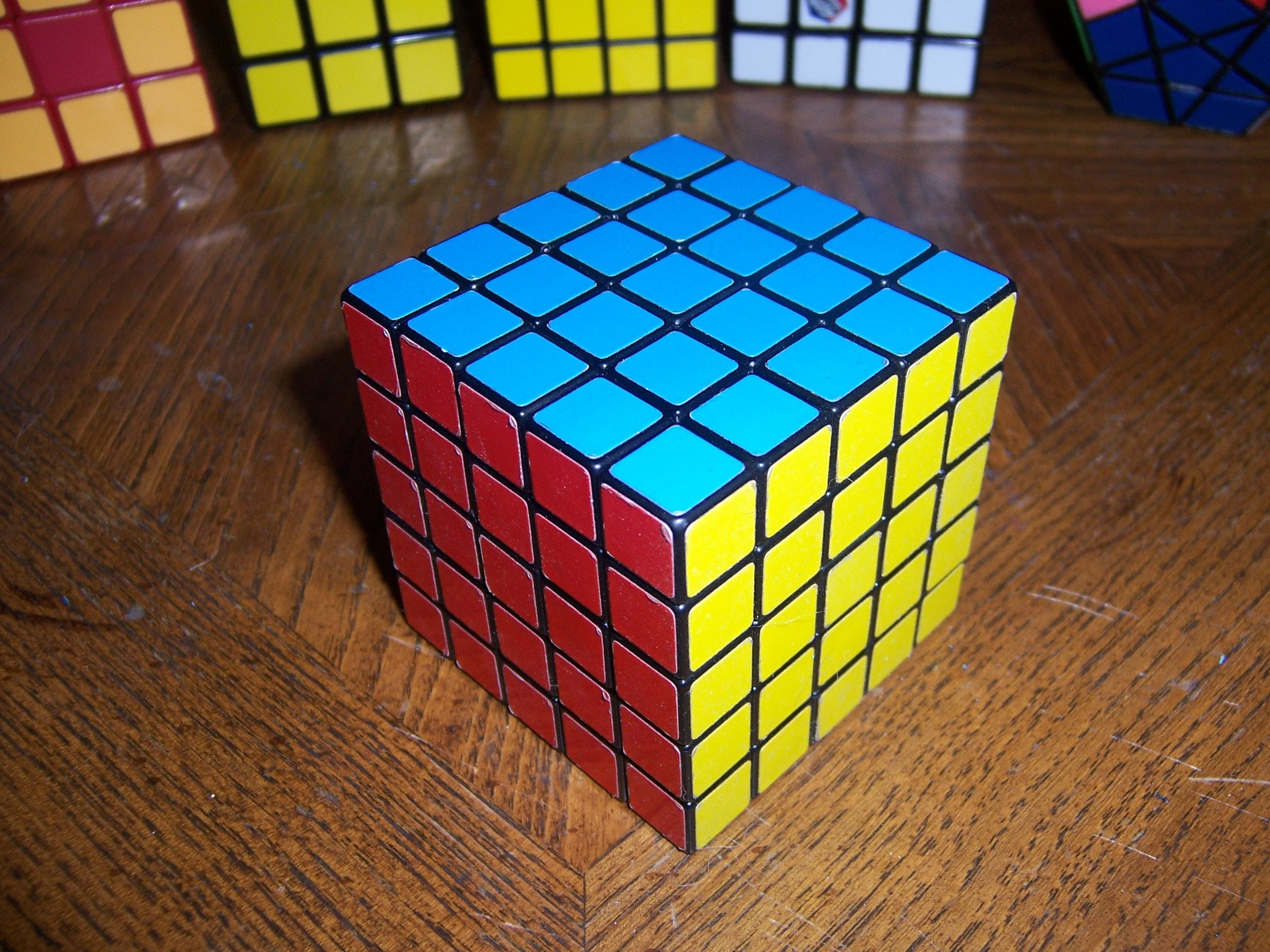 How To Solve a 5x5x5 Rubik's Cube Part 1 5