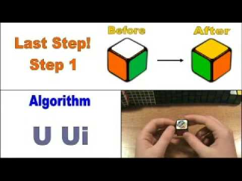 How To Solve The 1x1 Rubik's Cube 6