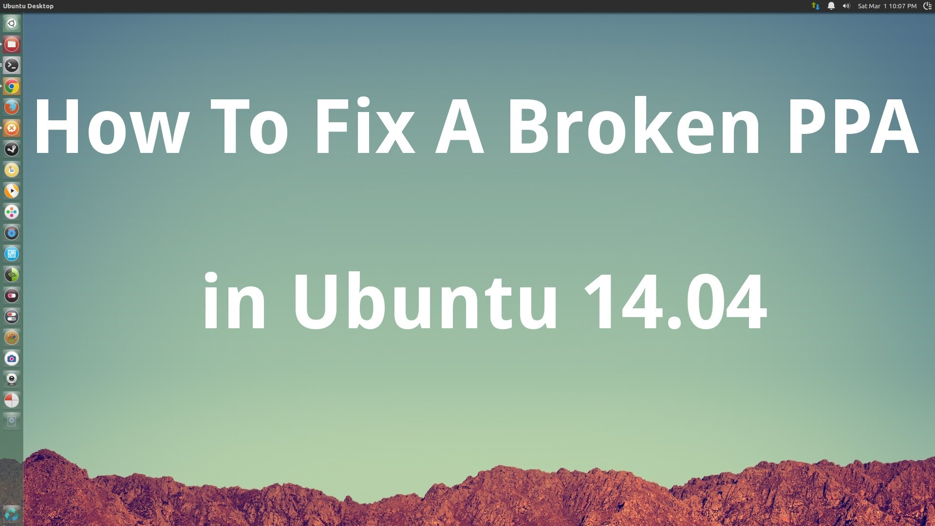 How To Fix Broken PPA Ubuntu 14.04 LTS 6