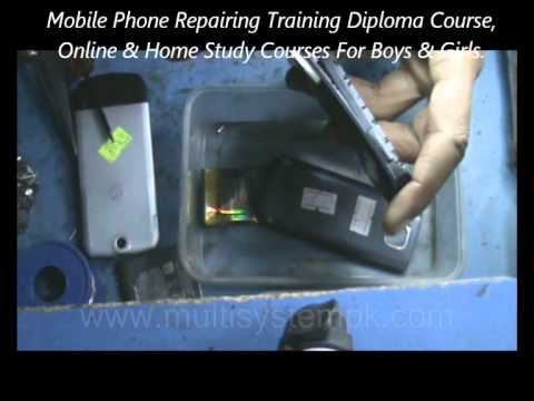How To Repair DEAD MOBILE PHONE.wmv 6