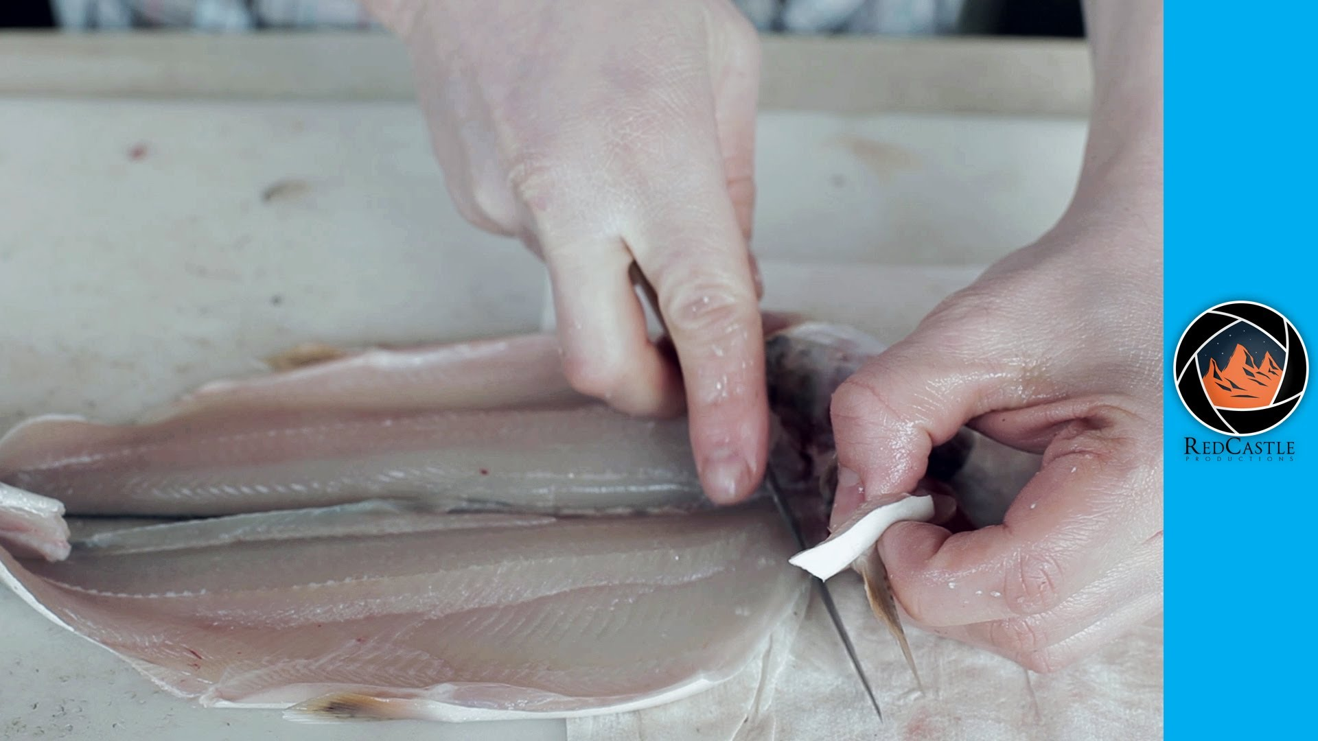 How to fillet and skin a trout the right way 6