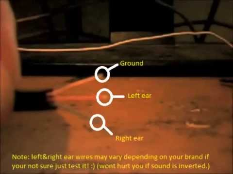 How to fix your headphones with one side working 1