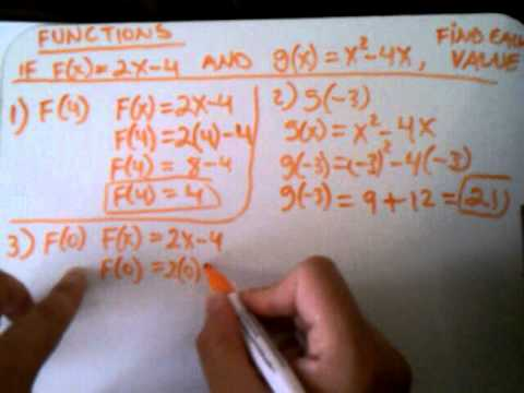 HOW TO SOLVE FUNCTIONS 6