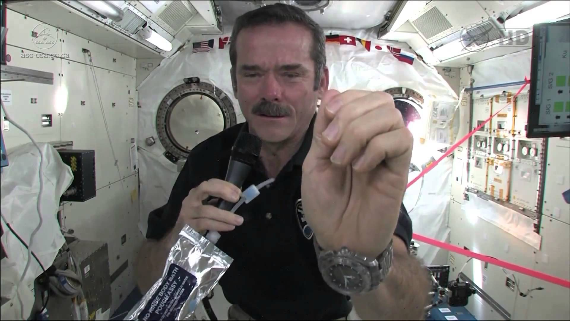 How To Wash Your Hands In Space | Video 6