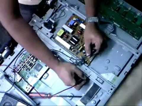"""how to repair no power LG 32""""  LCD tv 3"""