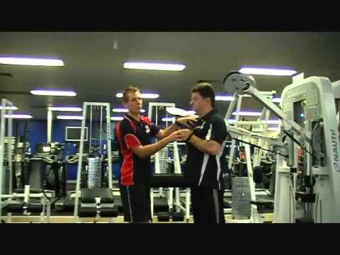 How to Exercise Using the Cables for the Horizontal Press - FIT College Training 4