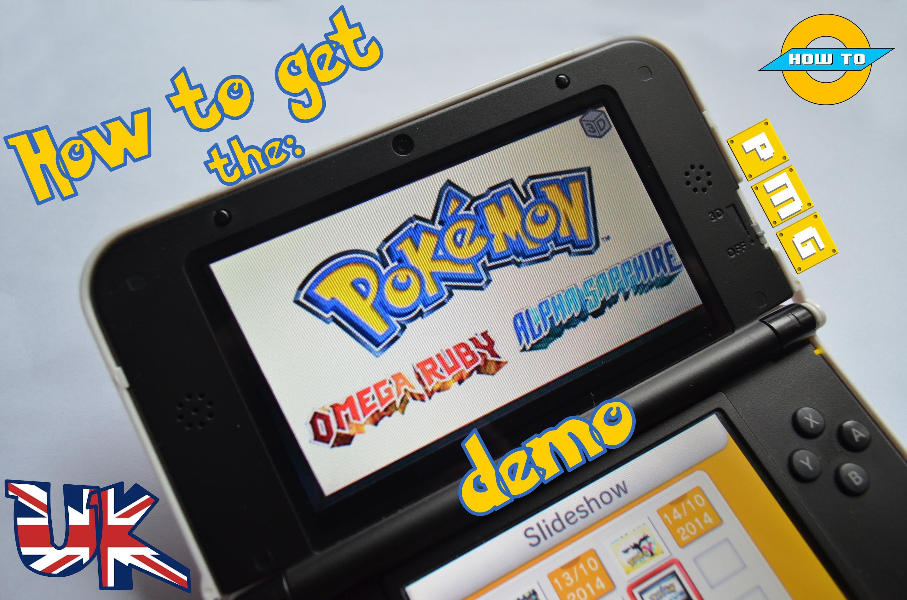 How to get the Pokémon Omega Ruby/Alpha Sapphire Demo (step-by-step) (English) (TheNoLeafGamer) 5
