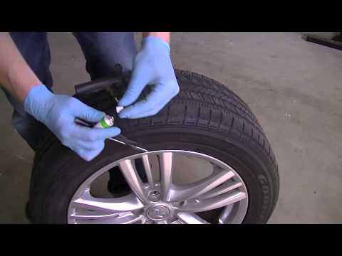 How To Repair A Nail Hole In A Tire 2