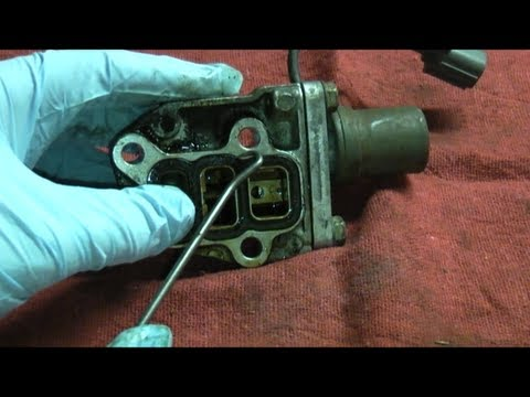 Honda Accord VTEC Solenoid Gaskets Replacement 3