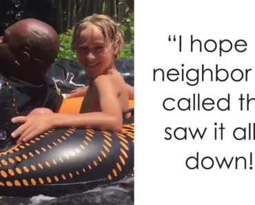 Neighbour Calls Police To Shut Down This Illegal SlipN Slide, But Things Dont Go As Planned 4