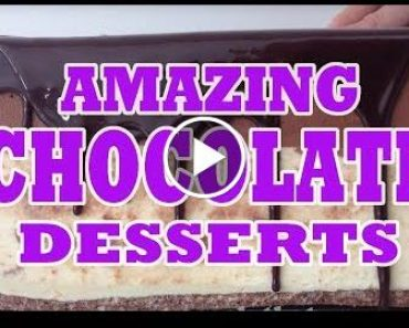 8 Amazing Chocolates, Cakes & Desserts in 8 minutes, Compilation by How To  , Ann Reardon 3