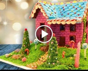 My Gingercake Hous Recipe 2017 | How To Cookss  Ann Reardon 2