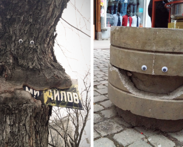 I Bring Bulgarian Streets To Life By Putting Googly Eyes On Random Objects (New Pics) 10