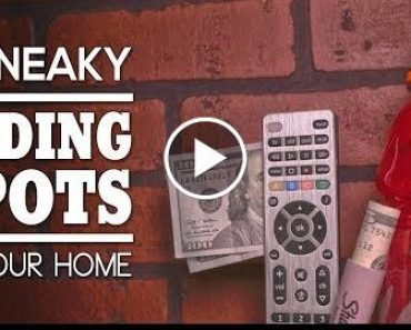 8 Sneaky Concealed SPOT In Your Home 1
